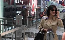 Xuất hiện tại sân bay sau chuyến công tác xa chồng, Song Hye Kyo gầy tới mức khó tin