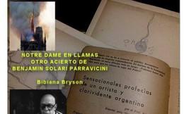 Vụ cháy nhà thờ Đức Bà Paris được dự báo từ nhiều thập kỷ trước
