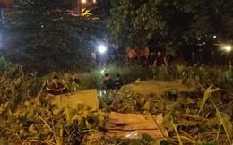 Thanh niên đi cướp tiệm vàng bị truy đuổi nhảy kênh mất tích, hàng trăm người hiếu kỳ theo dõi ở Sài Gòn