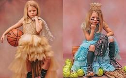 Chẳng muốn con mình lựa chọn giữa dịu dàng hay cá tính, người mẹ quyết định chụp bộ ảnh kết hợp cả hai phong cách ai nhìn vào cũng trầm trồ vì quá sức đỉnh