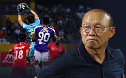 Thám sát V.League, thầy Park đã tìm được nhân tố khiến thủ môn Bùi Tiến Dũng phải lo lắng