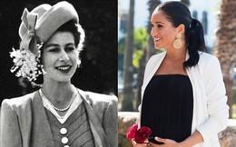 """Cùng đăng ảnh chúc mừng sinh nhật Nữ hoàng Anh 93 tuổi lên Instagram nhưng vợ chồng Meghan lại """"chơi trội"""" so với chị dâu Kate thế này đây"""