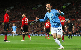 Vòng 35 Premier League 2018/19: Man United 0-2 Man City