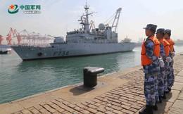 """Hẹn đến diễu binh trên biển của TQ, vì sao chiến hạm Pháp """"mất tích"""" không lời giải thích?"""