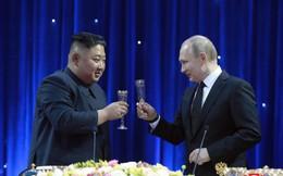 Nhà lãnh đạo Triều Tiên Kim Jong-un rời thành phố Vladivostok
