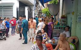 Nghi án cháu dùng búa sát hại cô ở Sài Gòn: Nghi can mặt tái mét khi công an đưa về trụ sở