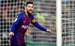"""Messi tung đòn """"chí mạng"""", Barcelona chính thức vô địch La Liga"""