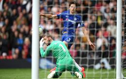 Man United 1-1 Chelsea: Man United trả giá vì De Gea