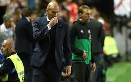 Zidane cáu tiết, chỉ trích gay gắt sao Real sau thất bại bẽ bàng