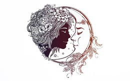 Bạn nhìn thấy cô gái hay mặt trăng, đáp án sẽ giải mã điều khiến người khác ngưỡng mộ nhất về bạn