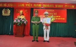 Bổ nhiệm Thiếu tướng Vũ Xuân Dung giữ chức Cục trưởng Cảnh sát QLHC về TTXH