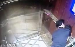 Ép hôn bé gái trong thang máy