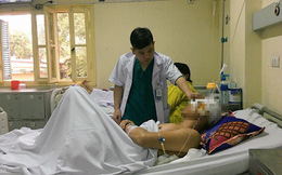 Bất cẩn nam thanh niên đã gặp tai nạn kinh hoàng dị vật đâm xuyên thẳng vào não