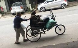 Đôi vợ chồng già tàn tật nhặt ve chai trên đường và câu trả lời bất ngờ khi được cho tiền