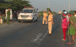 Người đàn ông tử vong, đứt chân sau cú va chạm với xe tải