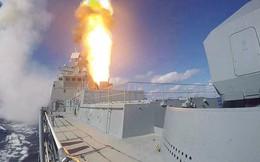 Tàu chiến Nga ồ ạt phóng tên lửa hành trình tiêu diệt khủng bố ở Idlib, Syria