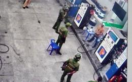 Nam thanh niên nghi ngáo đá dọa đốt cây xăng ở Long Xuyên