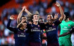 """Aubameyang lập hattrick, Arsenal đưa Premier League """"phủ sương mù"""" lên toàn cõi châu Âu"""