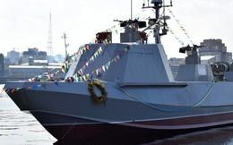 """Báo Nga: Tàu đổ bộ mới của Ukraina không thể """"đứng thẳng"""""""