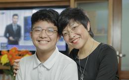 Con trai thông báo bảng điểm toàn 6 và phản ứng bất ngờ của MC Thảo Vân