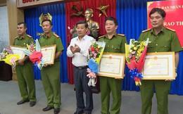 2 người dân kịp thời báo công an bắt 4 nghi phạm vụ thi thể trong bê tông được khen thưởng