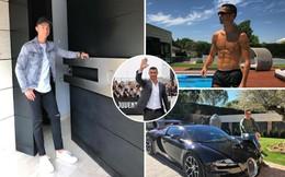 """Tiền của Neymar và Mbappe chưa mua nổi """"nhà xí"""" của Ronaldo"""