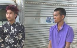 Hai thanh niên không biết lái xe trộm ô tô bị lộ vì không bật được đèn xe