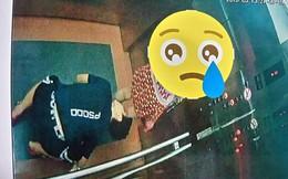 """Quy Nhơn: Xuất hiện """"kẻ biến thái"""" quỳ xuống trong thang máy để nhìn bên trong váy của bé gái"""