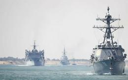 """Mải điều tàu thị uy Iran, Hải quân Mỹ """"hở sườn"""" ở Biển Đông và eo biển Đài Loan trước Trung Quốc"""