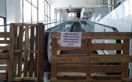 Siêu thị Auchan trống trơn sau 6 ngày xả hàng giảm giá