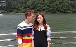 """Đăng Khôi được vợ """"hộ tống"""" sang Hàn Quốc quay MV mới"""
