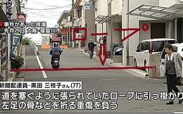 """Hai thiếu niên Nhật Bản bị buộc tội giết người vì giăng dây thừng giữa đường để xem mọi người ngã """"cho vui"""""""
