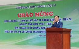 """Người tự xưng """"nhà báo quốc tế"""" là Viện trưởng một Viện thuộc Hội Luật gia Việt Nam"""