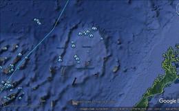"""Hình ảnh vệ tinh vụ """"đâm rồi bỏ trốn"""": TQ nói dối trắng trợn về việc """"tàu TQ bị 7-8 tàu Philippines bao vây"""""""