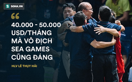 """HLV Lê Thụy Hải: """"Trả ông Park lương 100.000, 200.000 USD/tháng mà vào VCK World Cup thì không hề đắt"""""""