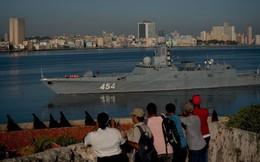 """Đòn hiểm của TT Putin: Điều tàu chiến chất đầy tên lửa cập cảng Cuba """"dằn mặt"""" Mỹ"""