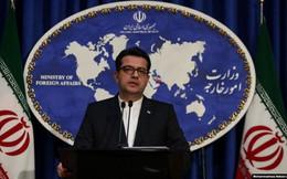"""Iran chỉ trích Mỹ """"giả dối"""" với luận điệu vừa đàm phán vừa trừng phạt"""