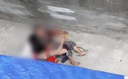 Hà Nội: Nhiều người lao vào giải cứu bà cụ bị chó Malinois cắn xé trong ngõ