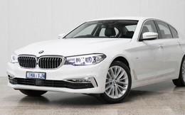 THACO đưa BMW 5-Series mới về Việt Nam ngay trước Tết