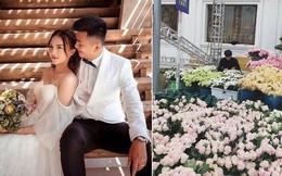 Hoa khôi báo chí lên xe hoa vào ngày đầu năm mới, diện chiếc váy đính 10.000 hạt pha lê cao cấp