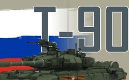 """Infographic: """"Xe tăng bay"""" T-90 của lục quân Nga"""