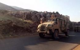 Rò rỉ hình ảnh quân đội Thổ Nhĩ Kỳ kéo dàn vũ khí cắm chốt dọc biên giới Syria