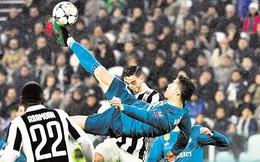 Ronaldo lại giành cú đúp giải thưởng