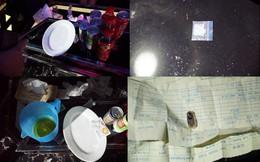 """25 nam nữ quay cuồng trong phòng karaoke """"Tổng thống"""" có ma túy"""