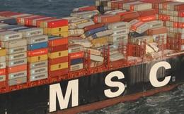 Tàu chở hàng gặp bão, 270 container mất tích trên biển, có cả vật liệu nguy hiểm