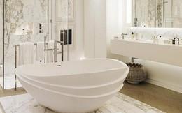 Cách thiết kế nhà tắm cực đẹp cho một năm mới vừa thoải mái lại hạnh phúc