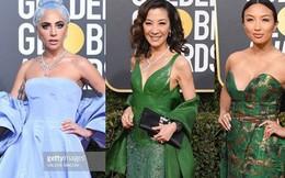 """Thảm đỏ """"Quả Cầu Vàng 2019"""": Lady Gaga, Dương Tử Quỳnh nổi bật, mỹ nhân gốc Việt gợi cảm"""