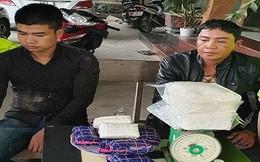 Bắt giữ 2 đối tượng dùng ô tô vận chuyển số lượng lớn ma túy