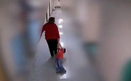 Phẫn nộ cảnh cô giáo kéo lê học sinh tự kỷ dọc hành lang