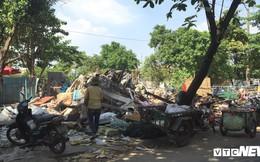 Tháo dỡ công trình vi phạm trật tự xây dựng ở vườn rau Lộc Hưng